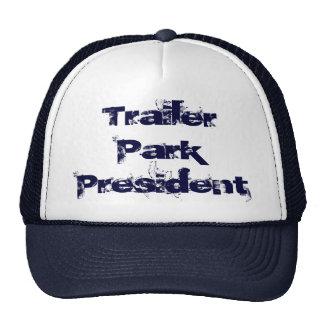 Presidente Hat del parque de caravanas Gorras De Camionero