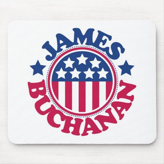 Presidente James Buchanan de los E.E.U.U. Tapetes De Raton