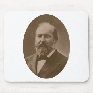 Presidente James Garfield Alfombrillas De Ratón
