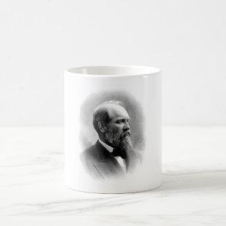 Presidente James Garfield Taza Básica Blanca