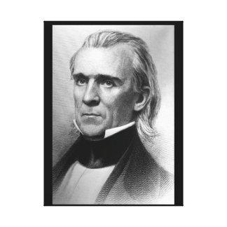 Presidente James K. Polk, c_America Grows_Image Impresión En Lienzo