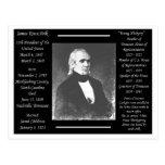 Presidente James K Polk Postal