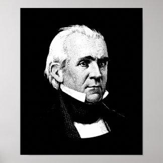 Presidente James K. Polk Póster