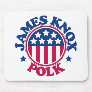 Presidente James Knox Polk de los E.E.U.U. Mouse Pad