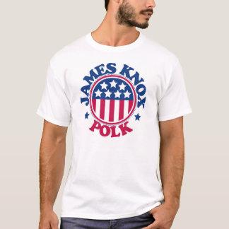Presidente James Knox Polk de los E.E.U.U. Playera