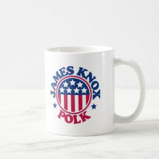 Presidente James Knox Polk de los E.E.U.U. Taza Clásica