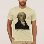 presidente James Madison con la firma Playera
