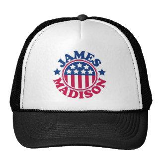 Presidente James Madison de los E.E.U.U. Gorras De Camionero