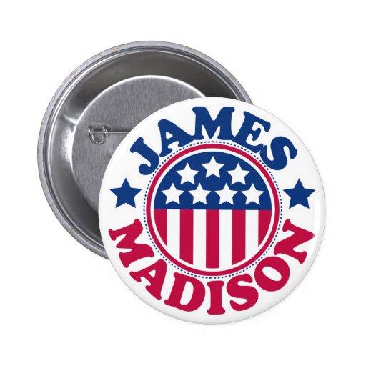 Presidente James Madison de los E.E.U.U. Pins