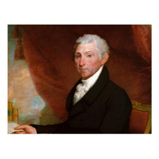 Presidente James Monroe de los E.E.U.U. de Gilbert Postal