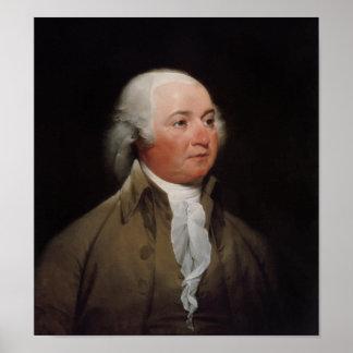 Presidente John Adams Posters