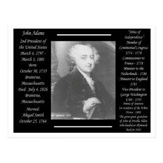 Presidente John Adams Postal