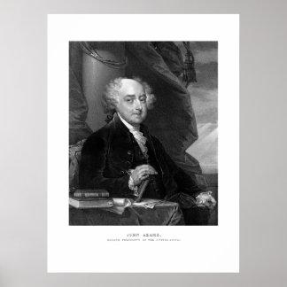 Presidente John Adams Póster