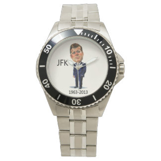 Presidente John F. Kennedy 50 años encendido Reloj De Mano