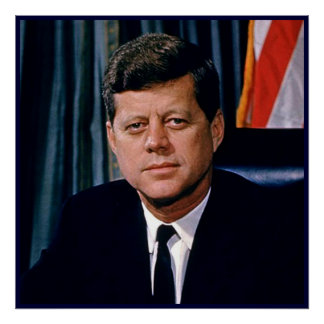 Presidente John F. Kennedy Posters