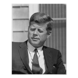 Presidente John F. Kennedy Póster