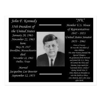 Presidente John F. Kennedy Tarjetas Postales