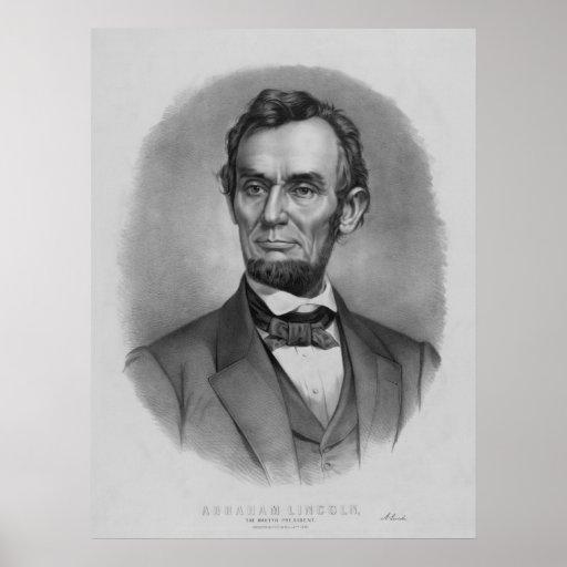 Presidente Lincoln Artwork Posters