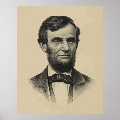 Presidente Lincoln Póster