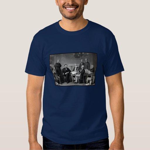 Presidente Lincoln y su gabinete Poleras