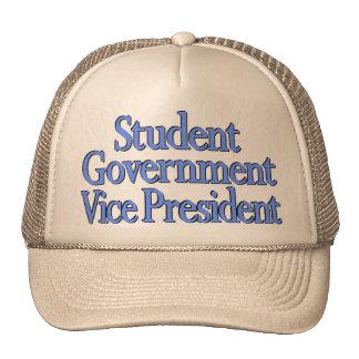 """""""Presidente"""" logotipo azul del estudiante en el Gorro De Camionero"""