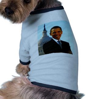 presidente los E.E.U.U. Estados Unidos de hussein  Camisetas De Perro