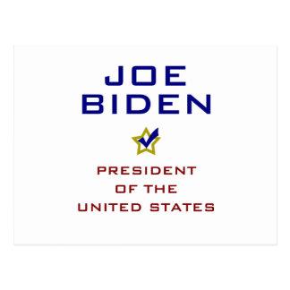 Presidente los E.E.U.U. V2 de Joe Biden Postal