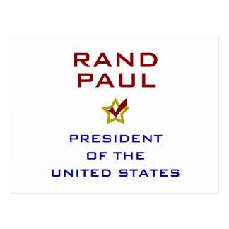 Presidente los E.E.U.U. V2 de Paul del rand Postal
