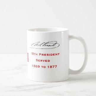Presidente los U.S. Grant Taza