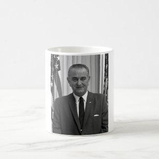 Presidente Lyndon Johnson Taza De Café