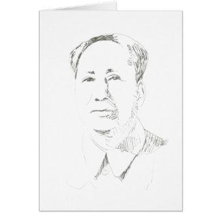 Presidente Mao China Felicitación