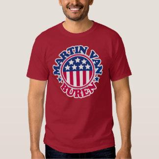 Presidente Martin Van Buren de los E.E.U.U. Camisas