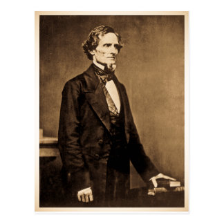 Presidente meridional Jefferson Davis Tarjeta Postal