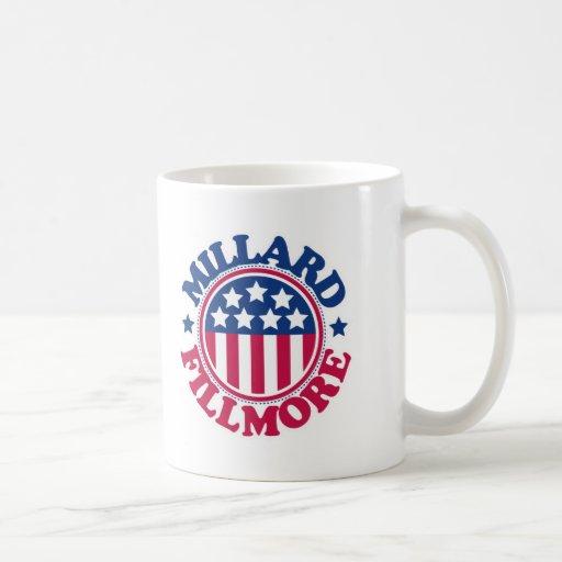Presidente Millard Fillmore de los E.E.U.U. Taza De Café
