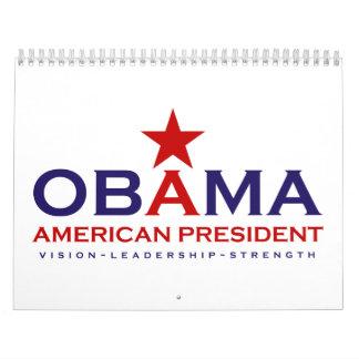Presidente Obama 2013 Calendarios