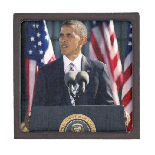 presidente obama 2 caja de regalo de calidad