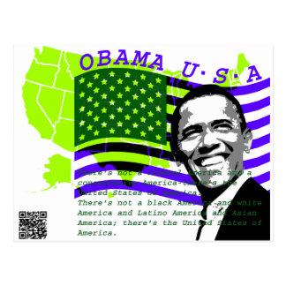 Presidente Obama 2 Tarjetas Postales