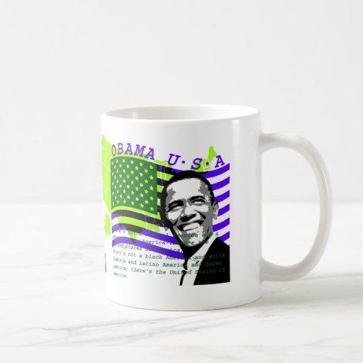 Presidente Obama 2 Taza