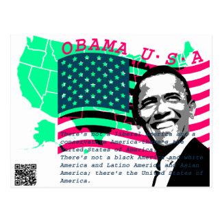 Presidente Obama 3 Tarjetas Postales
