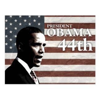 presidente Obama 44.o - c Tarjetas Postales
