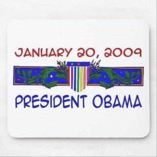 Presidente Obama Alfombrillas De Ratón