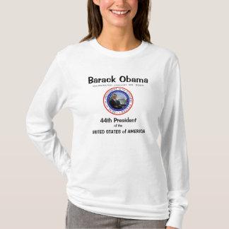 Presidente Obama - camisa de manga larga de las