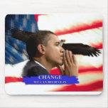 Presidente Obama CHANGE Tapete De Raton