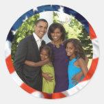 Presidente Obama Collectibles Etiquetas