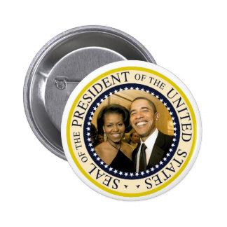 Presidente Obama Commemorative Button Pin
