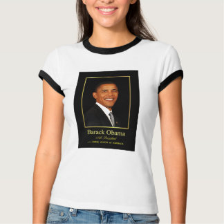 Presidente Obama Commemorative Ladies T-shirt Playera