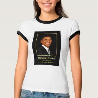 Presidente Obama Commemorative Ladies T-shirt Playeras