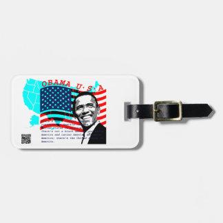 Presidente Obama Etiquetas Bolsas