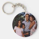 Presidente Obama First Family Llaveros