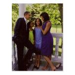 Presidente Obama First Family Postal